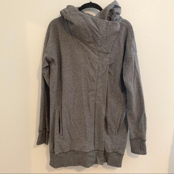 lululemon athletica Jackets & Blazers - Grey Lululemon Wrap Up jacket 8